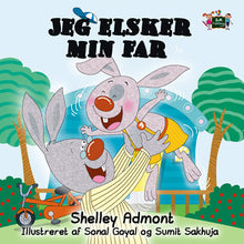 Danish-Language-children's-bedtime-story-bunnies-I-Love-My-Dad-Shelley-Admont-KidKiddos-cover