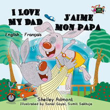 English-French-Bilingual-children's-bedtime-story-I-Love-My-Dad-Shelley-Admont-cover
