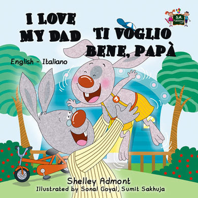 English-Italian-Bilingual-children's-bunnies-story-I-Love-My-Dad-Shelley-Admont-cover