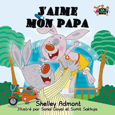 French-language-children's-picture-book-I-Love-My-Dad-Shelley-Admont-KidKiddos-cover