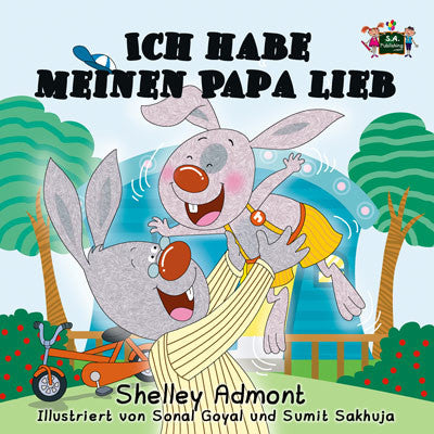 German-Language-children's-picture-book-I-Love-My-Dad-Shelley-Admont-KidKiddos-cover