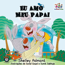 Portuguese-Language-children's-picture-book-I-Love-My-Dad-Shelley-Admont-KidKiddos-cover