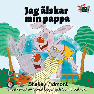 Swedish-language-children's-picture-book-I-Love-My-Dad-Shelley-Admont-KidKiddos-cover