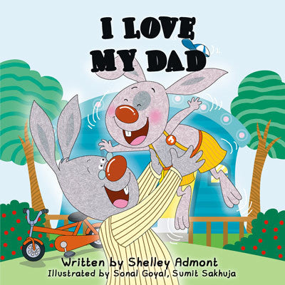 Children's-bedtime-story-bunnies-English-I-Love-My-Dad-Shelley-Admont-KidKiddos-cover