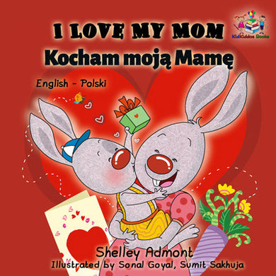 English-Polish-Bilingual-kids-book-Shelley-Admont-KidKiddos-I-Love-My-Mom-cover