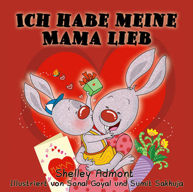German-language-kids-bedtime-story-I-Love-My-Mom-Shelley-Admont-cover