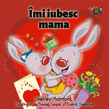 Romanian-language-bedtime-story-I-Love-My-Mom-by-Shelley-Admont-cover