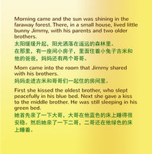 English-Chinese-Mandarin-Bilingual-kids-bunnies-book-I-Love-to-Brush-My-Teeth-Shelley-Admont-page1