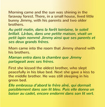 English-French-Bilingual-children's-picture-book-I-Love-to-Brush-My-Teeth-Shelley-Admont-page1