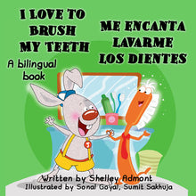 English-Spanish-Bilingual-kids-book-I-Love-to-Brush-My-Teeth-cover