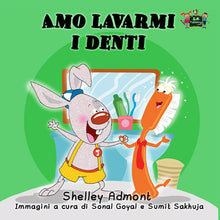 Italian-language-children's-picture-book-I-Love-to-Brush-My-Teeth-Shelley-Admont-KidKiddos-cover