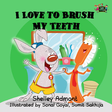 I-Love-to-Brush-My-Teeth-children's-bedtime-story-English-Shelley-Admont-KidKiddos-cover