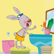English-Chinese-Mandarin-Bilingual-kids-bunnies-book-I-Love-to-Brush-My-Teeth-Shelley-Admont-page17
