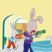 English-Chinese-Mandarin-Bilingual-kids-bunnies-book-I-Love-to-Brush-My-Teeth-Shelley-Admont-page2