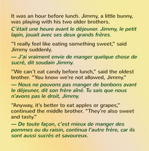 English-French-Bilingual-kids-bedtime-story-I-Love-to-Eat-Fruits-and-Vegetables-Shelley-Admont-page1