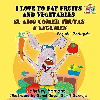 English-Portuguese-Bilignual-kids-book-I-Love-to-Eat-Fruits-and-Vegetables-cover