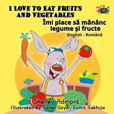 English-Romanian-Bilingual-kids-books-I-Love-to-Eat-Fruits-and-Vegetables-KidKiddos-Shelley-Admont-cover