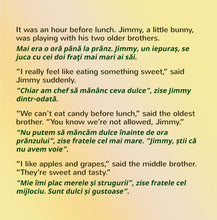 English-Romanian-Bilingual-kids-books-I-Love-to-Eat-Fruits-and-Vegetables-KidKiddos-Shelley-Admont-page1