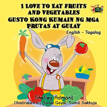 English-Tagalog-Filipino-Bilingual-kids-books-I-Love-to-Eat-Fruits-and-Vegetables-KidKiddos-Shelley-Admont-cover