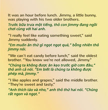 English-Vietnamese-Bilingual-kids-bedtime-story-I-Love-to-Eat-Fruits-and-Vegetables-Shelley-Admont-page1