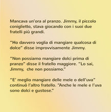 Italian-language-kids-bunnies-book-I-Love-to-Eat-Fruits-and-Vegetables-Shelley-Admont-page1