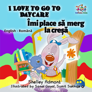 English-Romanian-Bilingual-kids-story-I-Love-to-Go-to-Daycare-cover