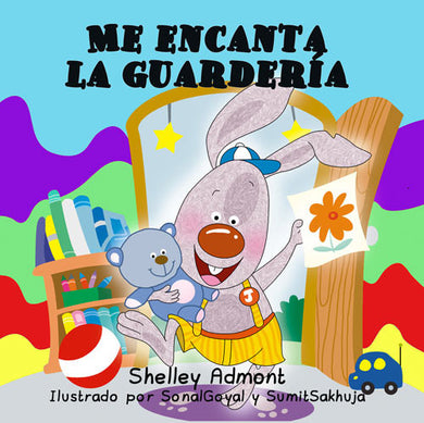 Spanish-language-childrens-book-about-bunnies-I-Love-to-Go-to-Daycare-cover