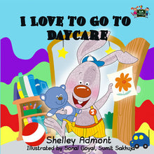 I-Love-to-Go-to-Daycare-kids-bunnies-bedtime-story-Shelley-Admont-English-language-cover
