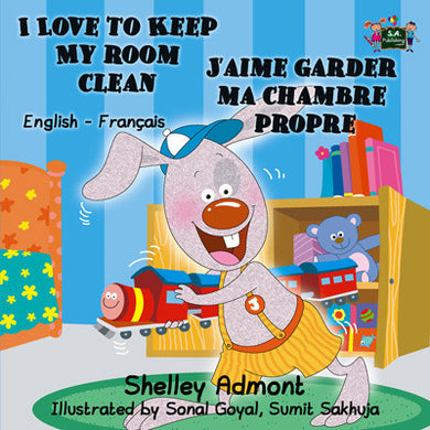 French-Bilingual-Bedtime-Story-for-kids-I-Love-to-Keep-My-Room-Clean-cover
