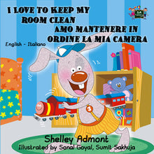 English-Italian-Bilingual-Bedtime-Story-for-kids-I-Love-to-Keep-My-Room-Clean-cover