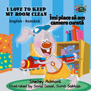 English-Romanian-Bilingual-Bedtime-Story-for-kids-I-Love-to-Keep-My-Room-Clean-cover
