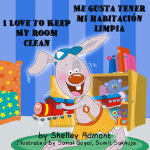 Spanish-Bilingual-Bedtime-Story-for-kids-I-Love-to-Keep-My-Room-Clean-cover