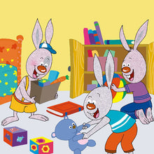 Portuguese-Portugal-Bedtime-Story-for-kids-about-bunnies-I-Love-to-Keep-My-Room-Clean-page10