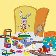 Portuguese-Portugal-Bedtime-Story-for-kids-about-bunnies-I-Love-to-Keep-My-Room-Clean-page7