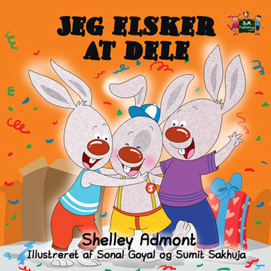 Danish-Language-children's-bedtime-story-I-Love-to-Share-Shelley-Admont-KidKiddos-cover