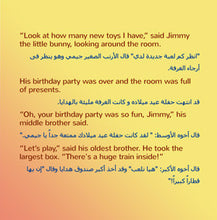 English-Arabic-Bilingual-childrens-book-I-Love-to-Share-Shelley-Admont-page1
