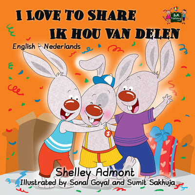 English-Dutch-Bilingual-picture-book-for-kids-I-Love-to-Share-Shelley-Admont-cover