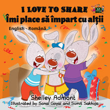 English-Romanian-Bilingual-kids-picture-book-I-Love-to-Share-Shelley-Admont-cover