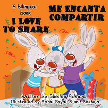 English-Spanish-Bilignual-Childrens-book-I-Love-to-Share-Shelley-Admont-cover