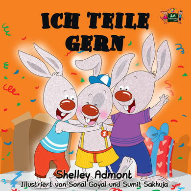 German-Language-bedtime-story-for-kids-Shelley-Admont-KidKiddos-I-Love-to-Share-cover