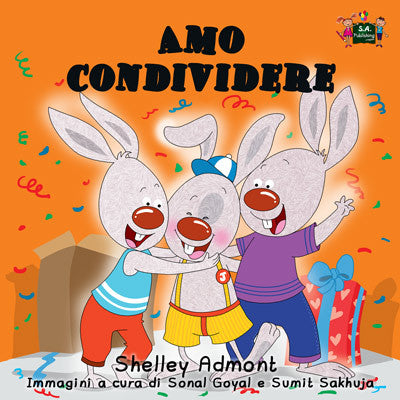 Italian-Language-kids-bedtime-story-Shelley-Admont-KidKiddos-I-Love-to-Share-cover