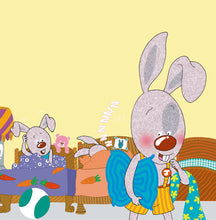 Portuguese-Portugal-Bilingual-childrens-bunnies-book-I-Love-to-Sleep-in-My-Own-Bed-Shelley-Admont-page5