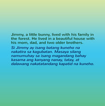 English-Tagalog-Filipino-Bilingual-Children's-bunnies-Story-I-Love-to-Sleep-in-My-Own-Bed-page1