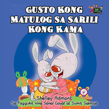 Tagalog-Filipino-language-kids-bunnies-bedtime-Story-I-Love-to-Sleep-in-My-Own-Bed-cover