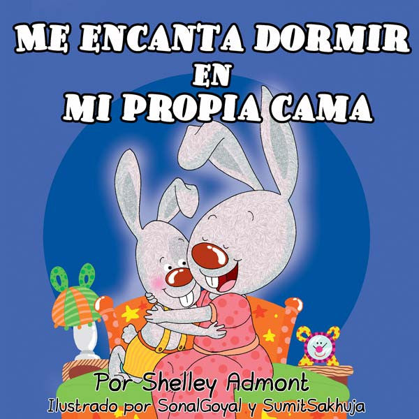 Spanish-language-childrens-Book-I-Love-to-Sleep-in-my-own-bed-Shelley-Admont-cover
