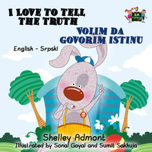 English-Serbian-Bilingual-childrens-book-I-Love-to-Tell-the-Truth-cover