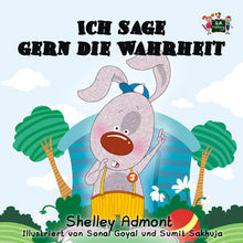 German-language-children's-bunnies-book-I-Love-to-Tell-the-Truth-Admont-cover