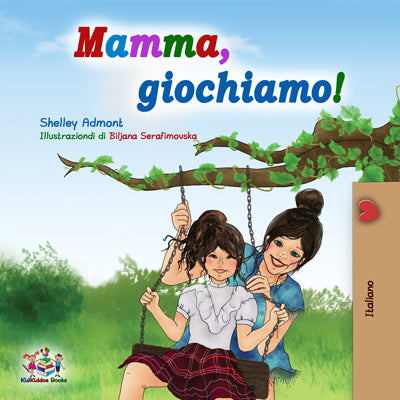 Italian-childrens-book-for-girls-Lets-Play-Mom-cover