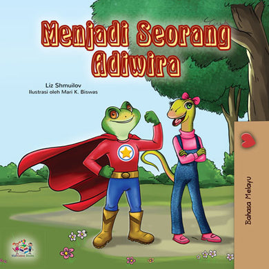 Malay-bedtime-story-for-kids-Being-a-superhero-cover