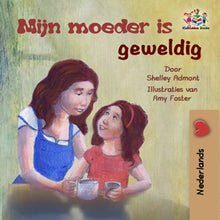 Dutch-language-children's-bedtime-story-girls-Shelley-Admont-My-Mom-is-Awesome-cover